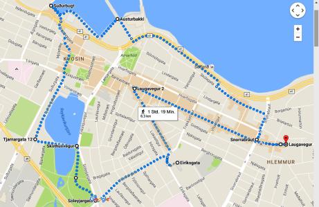 Reykjavik 6,3 km Stadtlauf