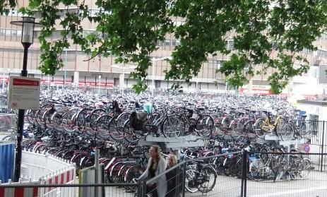 Utrecht Fahrradparkplatz