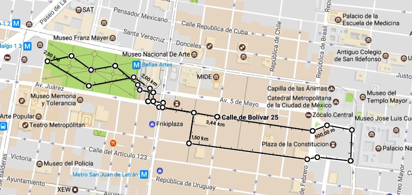 Mexiko-Stadt 3,44 km April2017